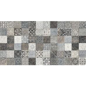 Tegels lys decor grijs 32x62,5