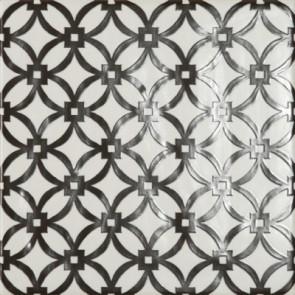 Tegels modena griglia bianco e nero 22,5x22,5cm