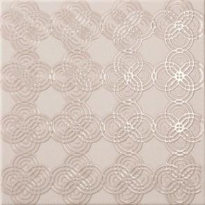 Tegels emuna cercle rose decor 22,5x22,5