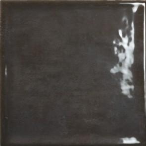 Tegels nara negro brillo uni 22,5x22,5