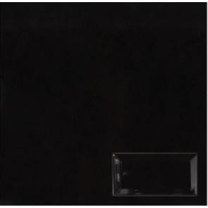 Tegels metro zwart 10x20,0 cm