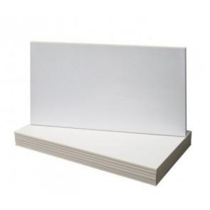 Tegels wit matt 25x50cm
