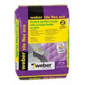 Tegellijm weber tile flex eco 4 kg