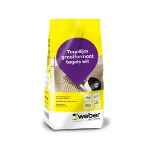 Tegellijm weber tile special 4 kg