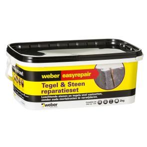 Weber tegel & steen reparatie 2 kg