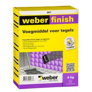 Weber wd finish perfect wit 4 kg
