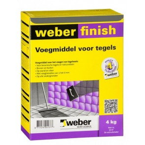 Weber wd finish perfect antra 4 kg