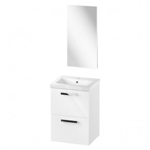 Basic plus melar 60cm inclusief fonteinset en spiegel