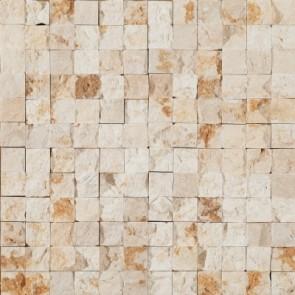 Tegels mosaico petra 11 beige 3d 30x30 cm