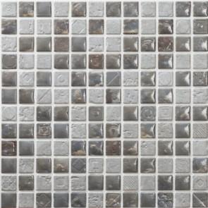 Tegels mosaico petra 09 dark grey 30x30 cm