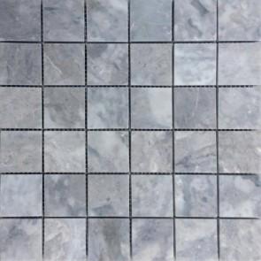 Mozaiek limestone grey 5,0x5,0 (vel 30x30)cm