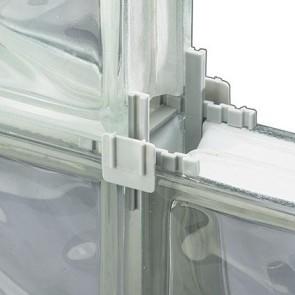 Glazen bouwsteen afstandhouder (doos 15)