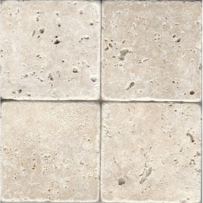 Natuursteen travertino chiaro 40,0x40,0