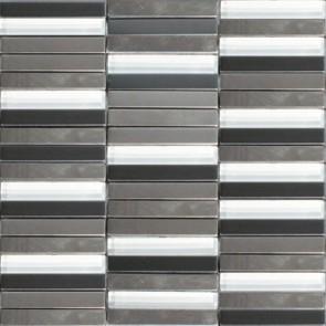 Mozaiek acero ac.100 grey 1,5x10,0x0,8