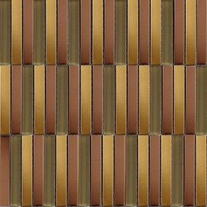 Mozaiek acero ac.100 gold 1,5x10,0x0,8