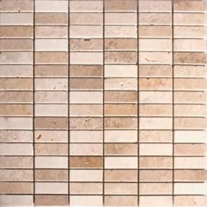 Mozaiek marmol ma.001 madrid beige 1,7x4,9x0,8