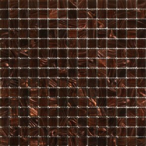 Mozaiek glas vi.002 light brown lichtbruin 2,0x2,0x0,4