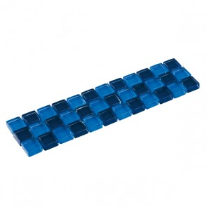 Listello mozaiek blauw mix 4,8x19,5