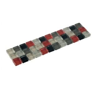 Listello mozaiek grijs mix 4,8x19,5