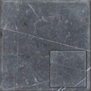 Natuursteen nero marqino antiek 10x10x1,0