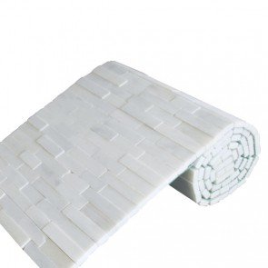 Mozaiek brickstone rol white 34,0x150,0