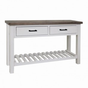 Sidetable 2 lades Albion 130x40x75cm