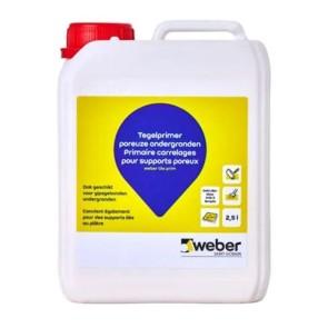 Weber prim tegel 2,5 ltr