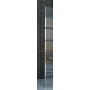zijwand + hoekprofiel 400x2000 10mm NANO glas