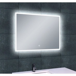 Quatro-Led dimbare condensvrije spiegel 800x600
