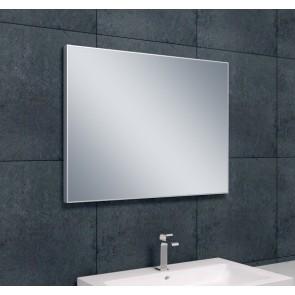 Spiegel aluminium lijst 800x600x21