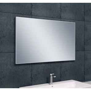 Spiegel aluminium lijst 1000x600x21