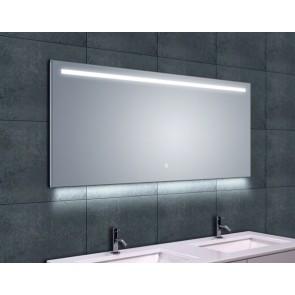 Ambi One dimbare Led condensvrije spiegel 1400x600