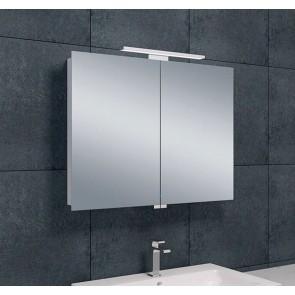 Luxe spiegelkast +Led verlichting 80x60x14cm