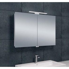 Luxe spiegelkast +Led verlichting 90x60x14cm