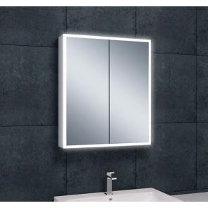 Quatro spiegelkast +verlichting 60x70x13
