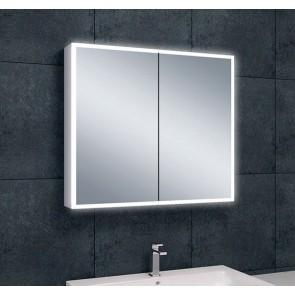 Quatro spiegelkast +verlichting 80x70x13