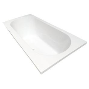 Portus RD inbouw ligbad 170*70*43 cm wit