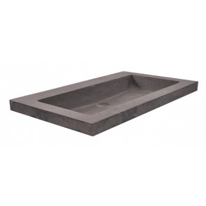 hardstenen meubelwast. 60x46x5 zonder kr.gat