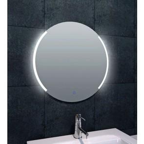 Round dimbare LED condensvrije spiegel rond 600