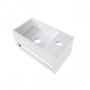 Julia fontein Solid Surface 35 x 20 x 16 wit rechts