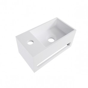 Julia fontein Solid Surface 356x203x159 wit links