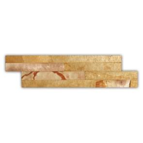 Steenstrips sandstone S1556BZ 10x35cm interlock
