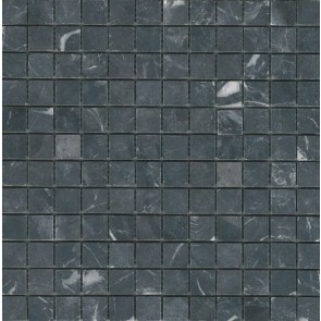 Mocaic stone chip black 30x30x1 23x23mm