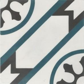 Tegel marrakesch blu rondo 20x20