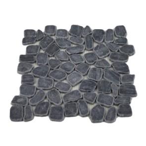 Mozaiek stone grey irregular chip coin 30x30x1cm