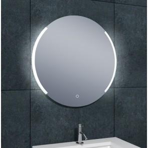 Round dimbare LED condensvrije spiegel rond 800