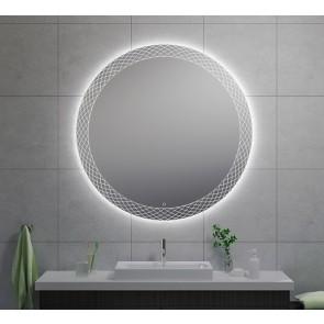 Deco condensvrije led-spiegel 120 cm