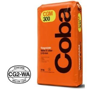 Coba voegproducten voegmaterialen x 20 kg cgm300 voeggrijs cob