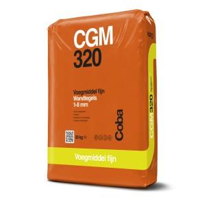 Coba voegproducten voegmaterialen x 20 kg cgm320 voegzil.gr cob