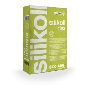 Bouwmaterialen colmef silikoll flex c2te s1 25 kg